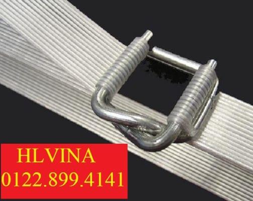 dây đai composite kèm bọ thép khóa đai