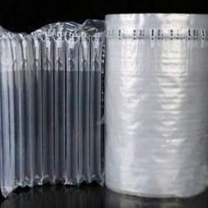 túi khí chèn thùng carton dạng cột