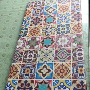 thảm chống mỏi hoa văn