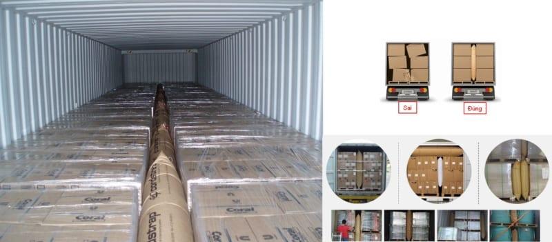 Cách đóng hàng vào container (1)